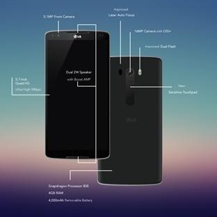LG G4 özellikleri Belli Oldu