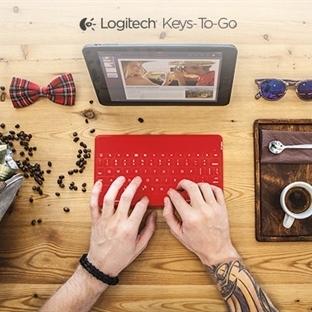 """Logitech, taşınabilir kablosuz klavye """"Keys-To-Go"""""""