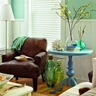 Mint Yeşili İle Dekorasyon Fikirleri