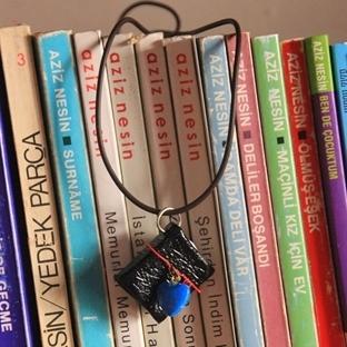 Minyatür kitap kolyem