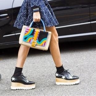Moda: Platform Oxford Ayakkabı