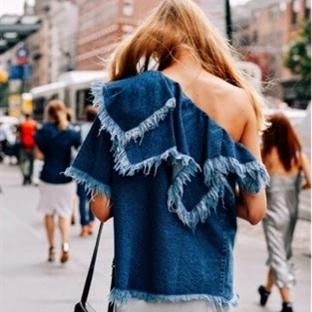 Moda: Saçaklı Jeanler