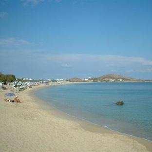 Naxos Adasında Yer Alan Plajlar