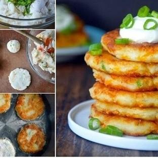 Patates Püreli Krep