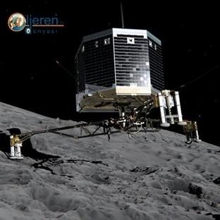 Philae uzay aracı inişini başarıyla tamamladı