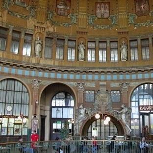 Prag'da tren ulaşımı