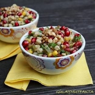 rokalı buğday salatası