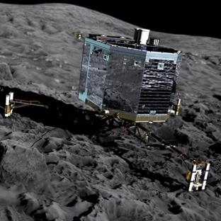 Rosetta'nın Philea Sondasının İneceği Bölge Belli