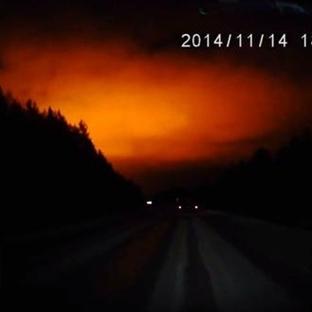 Rusya Ural Bölgesinde Yaşanan Patlama Meteor Mu?