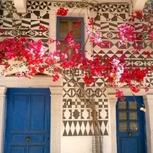 Sakız Adası Köyleri – Sakız Adası Pyrgi Köyü