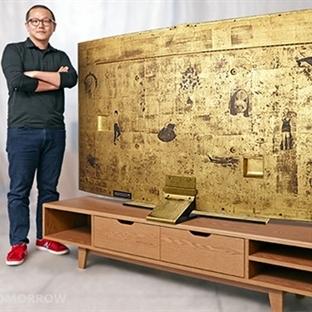 Samsung'dan Altın Kaplama TV