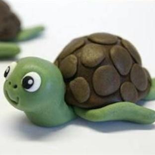 Şeker Hamurundan Kaplumbağa Yapılışı