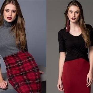 Sonbahar-Kış Modası; Bordo-Gri-Siyah