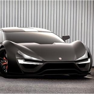 Süper araba pazarına 2000 beygirlik yeni rakip