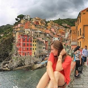 """İtalya'da balıkçı köyleri """"Cinque Terre"""""""