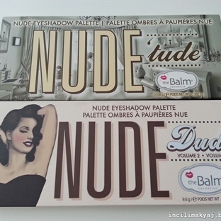 The Balm Nude Tude ve Nude Dude Paletleri