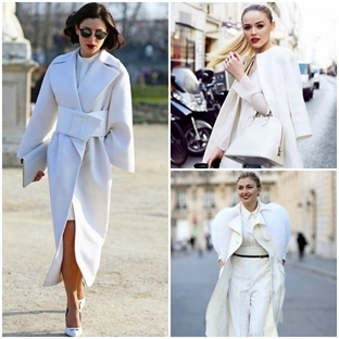 Trend: Beyaz Manto