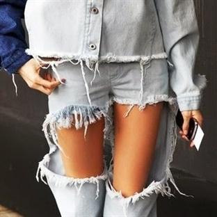 Trend: Saçaklı Jean