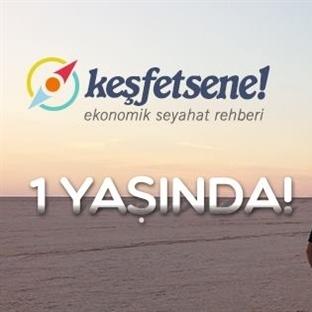 Türkiye'nin Gezi Blogu 1 Yaşında