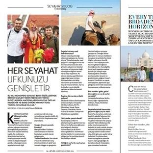Uçuş Dergisi Röportajımız