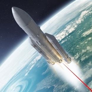 Uzay Mekikleri için Lazer Tahrikli Motor