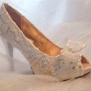 Vintage Gelin Ayakkabıları ile Şıklığı Yakalayın