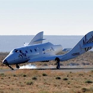 Virgin Galactic Deneme Uçuşunda Düştü