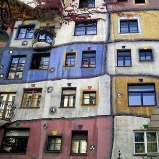 Viyana Hundertwasserhaus – Viyana Binsular Evi