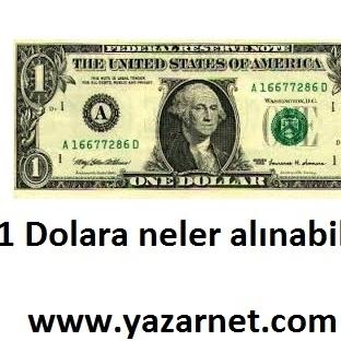 1 Dolara Neler Alınabilir ? ( Çok İlginç )