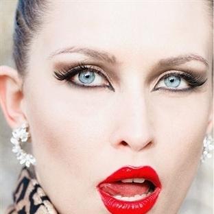 2015 Kış Sıcak Göz Makyajı Fikirleri !