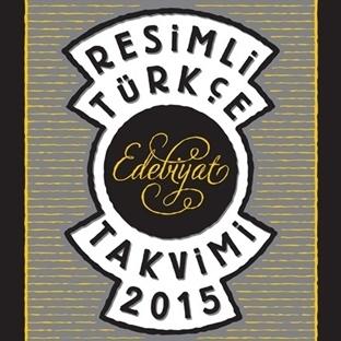 2015 Resimli Türkçe Edebiyat Takvimi