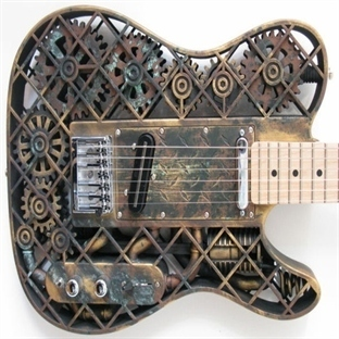3D Yazıcı ile Elektro ve Bas Gitar Yaptılar