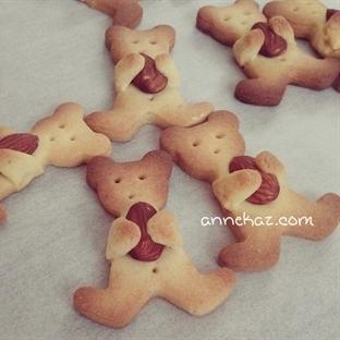 Bademli ayı kurabiye
