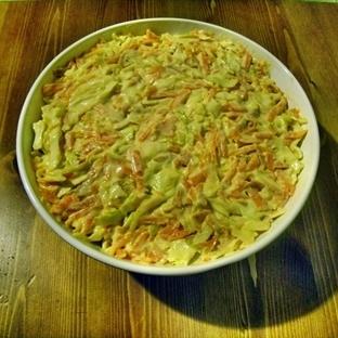 Balkabaklı Lahana Salatası