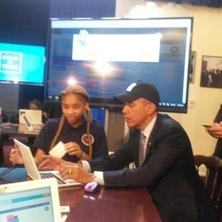 Barack Obama Kod Yazan İlk Devlet Başkanı oldu