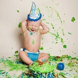 Bebeklerde Cake Smash Modası