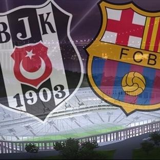 Beşiktaş'a Barcelona geliyor