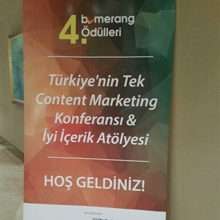 Bumerang Content Marketing Konferansı' ndan Notlar