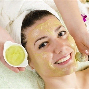 C vitaminli cilt maskesi
