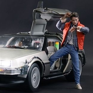 DeLorean ile Zamanda Yolculuk
