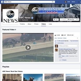 Facebook Video Sayfaları Değişiyor