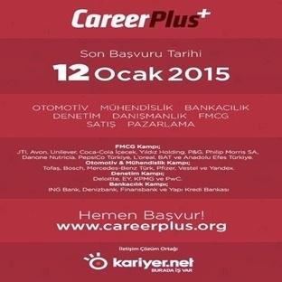 Kariyer Etkinliği CareerPlus 'ı Kaçırmayın