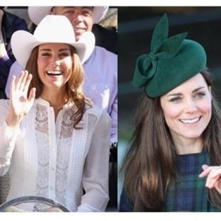 Kate Middleton'un Şapkaları