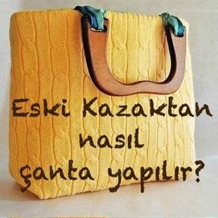 Kazaktan Çanta Yapımı