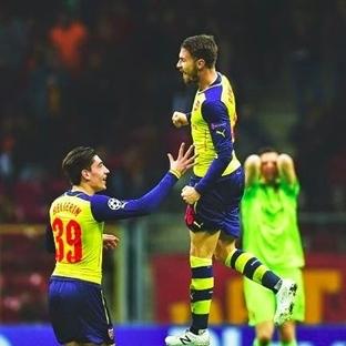Keyfekeder: Galatasaray 1-4 Arsenal