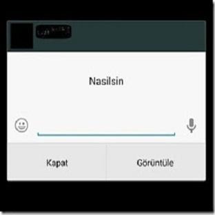 Kilit Ekranında WhatsApp Mesajlara Cevap Verin