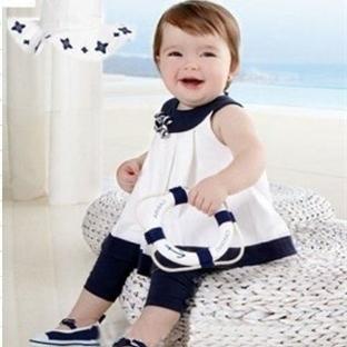 Kız Bebekler İçin Yazlık Elbise Modelleri