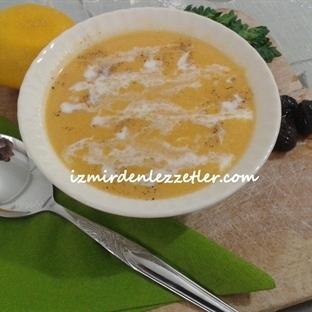 Kremalı Bal Kabağı Çorbası
