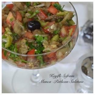 Manca -patlıcan Salatası Tarifi