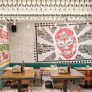 McCartney Design'dan Sydney'de Mad Mex Grilll